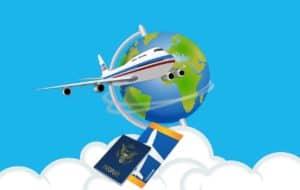 מטוס גלובוס וכרטיס טיסה